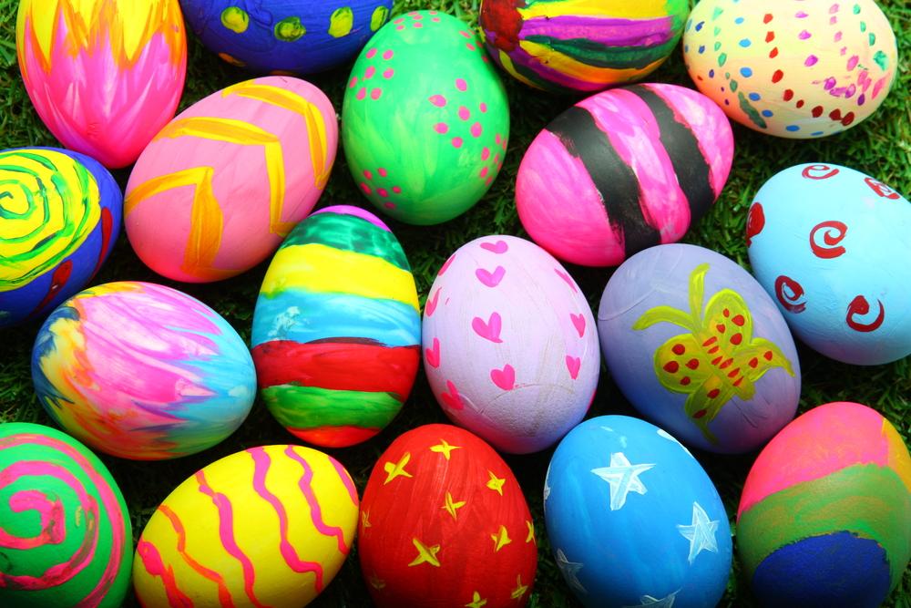 Пасхальные яйца красивые фото