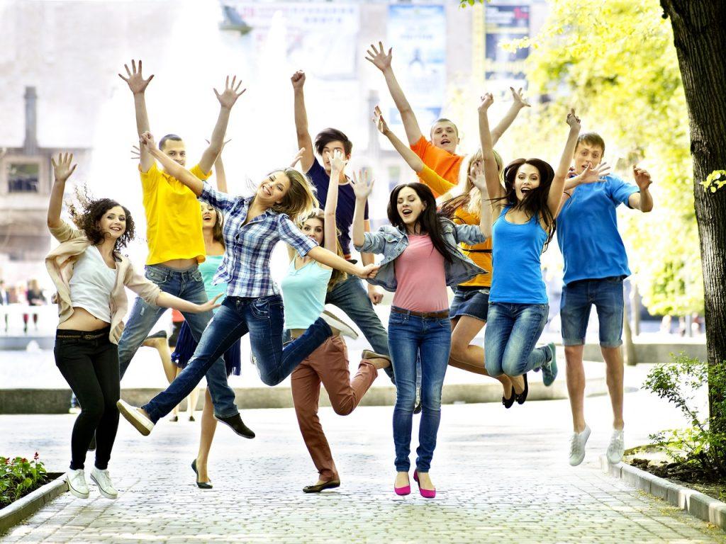Молодежь современная в картинках
