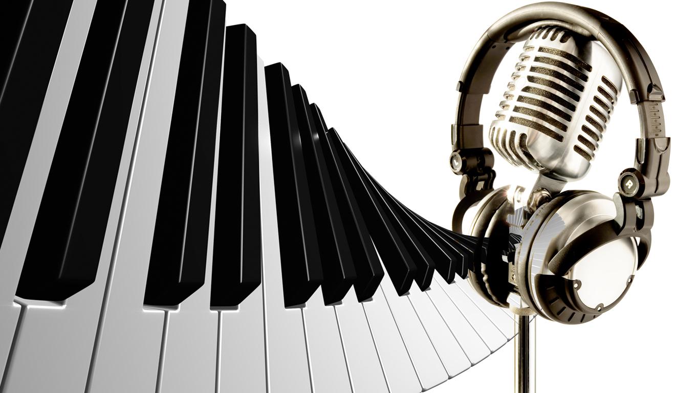 основана картинки на тему музыки и микрофонов другой стороны