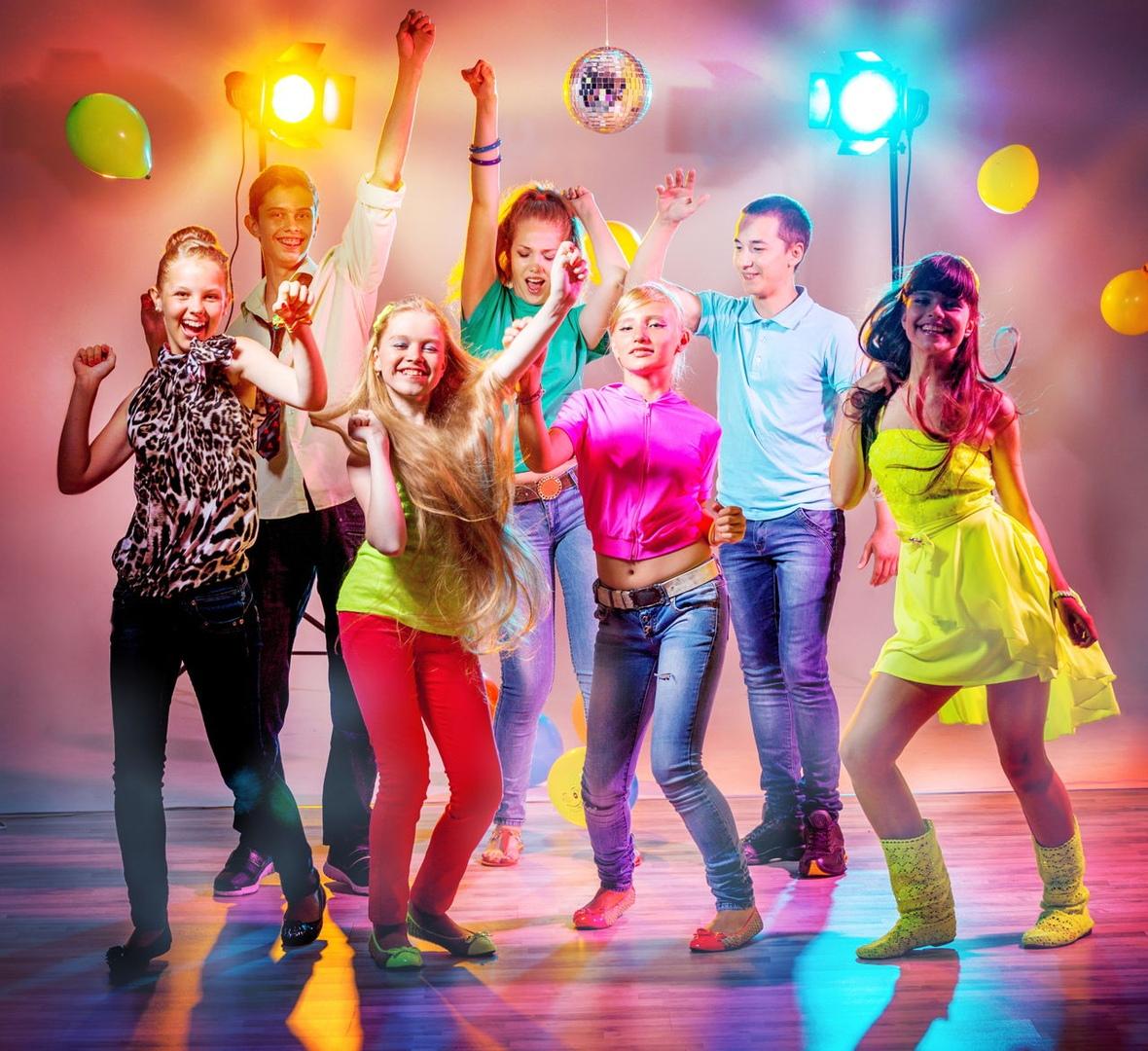 Молодежь танцует картинки