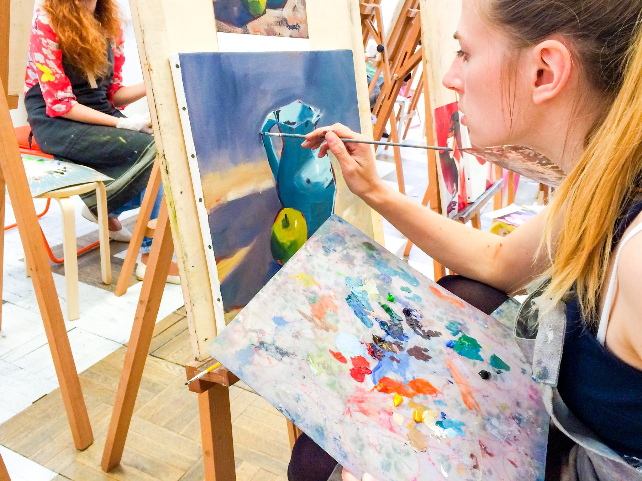 рисунок я учусь в художественной школе