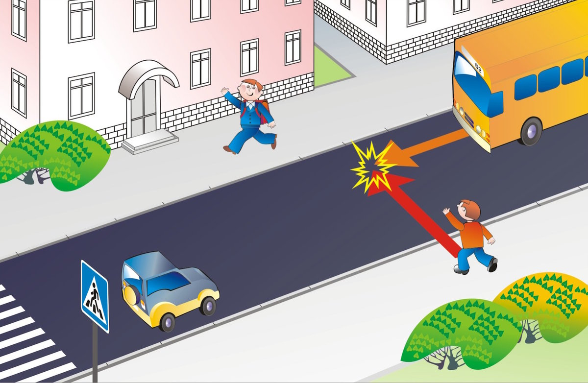 картинки для занятий по пдд с ситуациями на дорогах